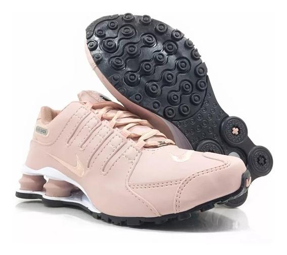 Tênis Nike Sxhox Nz 4 Molas Foto Original + Brinde
