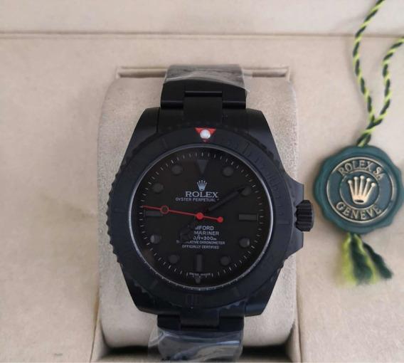 Relógio Masculino Submariner Mad Pvd