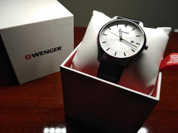 Swiss Made Relógio Masculino Wenger City Classic