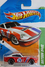 Hot Wheels 1/64 2011. Datsun 240z T-hunt 062/244 / Novo (a)