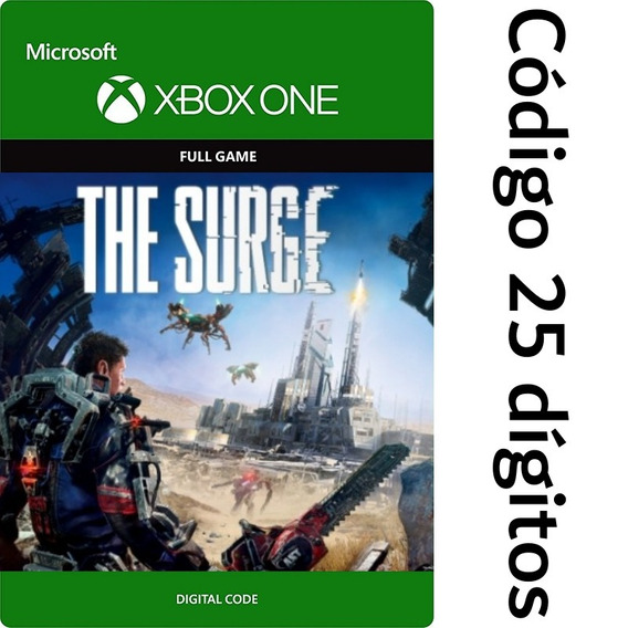 The Surge Xbox One Codigo 25 Digitos