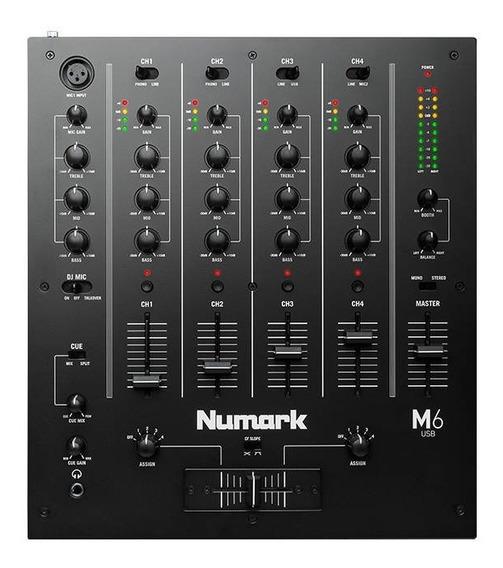 Mixer M6 Usb Numark - Mundo Dos Djs -