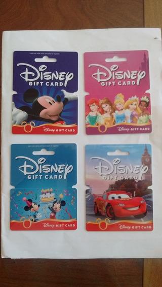 Tarjetas Coleccionables De Disney, Mickey, Cars.