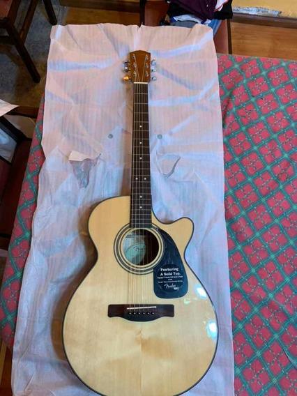 Guitarra Fender Electro Acustica Gran Concierto