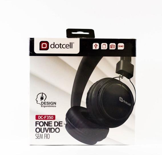 Fone De Ouvido Bluetooth 4.0 Dotcell Dc-f350 (preto)