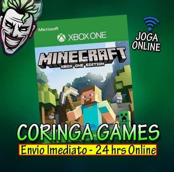 Minecraft Xbox One Mídia Digital + 2 Brindes