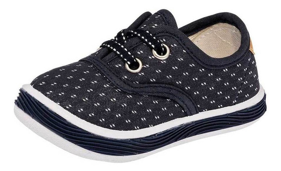 Tenis Kids Vane Niña 621 Color Marino Talla 17-18 -shoes