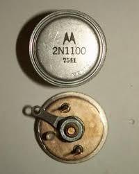 Transístores Motorola 2n1100