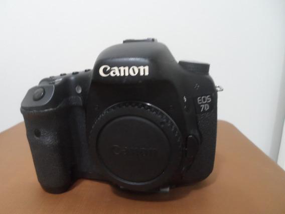 Canon 7d (corpo + Carregador E Bateria E Cartão 16 Gb)