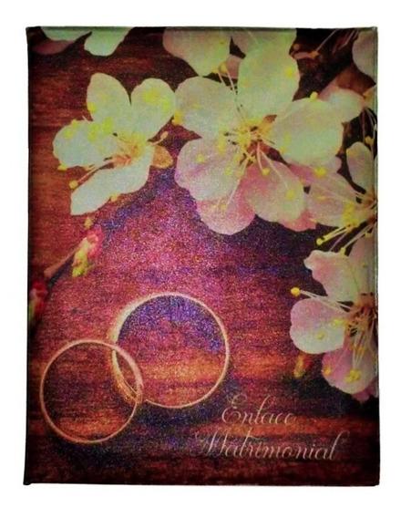 Álbum Foto Casamento(0219) 15x21 C/estojo 60 Fotos Universal
