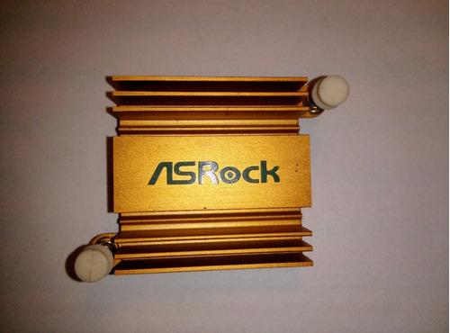 Disipador De Aluminio 38 Mm X 38 Mm X 9 Mm.