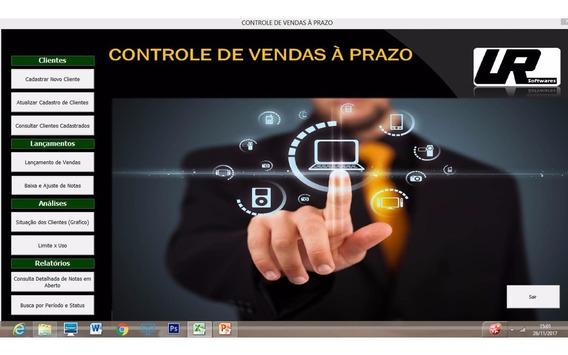 Controle De Vendas A Prazo, Promissórias, Notinhas - Vba