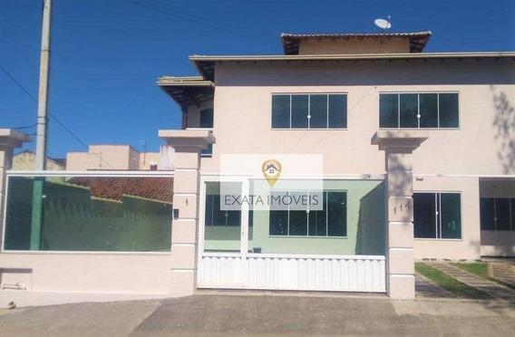 Casa Duplex 04 Quartos, Independente, Extensão Do Bosque/ Rio Das Ostras! - Ca0570