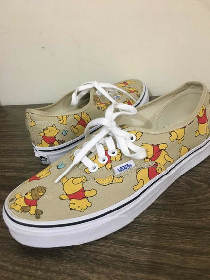 Tênis Vans X Disney Authentic Winnie The Pooh