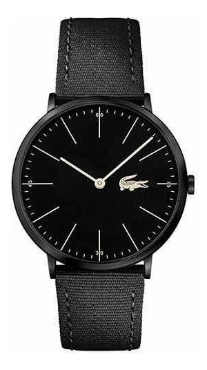 Relógio Lacoste Masculino Nylon Preto - 2010915