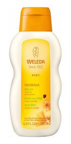 Óleo Hidratante Para O Bebê Calêndula Weleda - 200ml