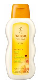Calêndula Óleo Hidratante Para O Bebê Weleda - Óleo Corporal 200ml
