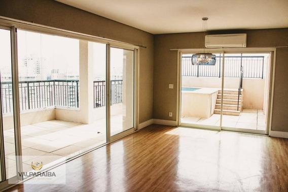 Cobertura Com 4 Dormitórios À Venda, 300 M² Por R$ 1.725.000 - Jardim Aquarius - São José Dos Campos/sp - Co0013