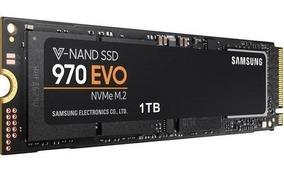 Ssd M.2 1tb Samsung 970 Evo Nvme Leitura 3400 Mbps.
