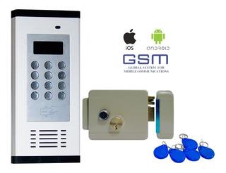 Interfon Gsm Edificio Y Villas 1000 Usuarios C/lector, Chapa
