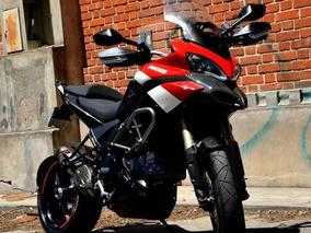 2011 Ducati Multistrada 1200 S Touring C/ Kit Carbono Y Akra