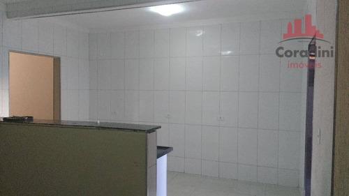 Imagem 1 de 22 de Casa Residencial À Venda, Jardim Marajoara, Nova Odessa. - Ca1393