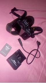 Nikon D3000+ Lente 18-55m+ Case+ Bateria E Carregador