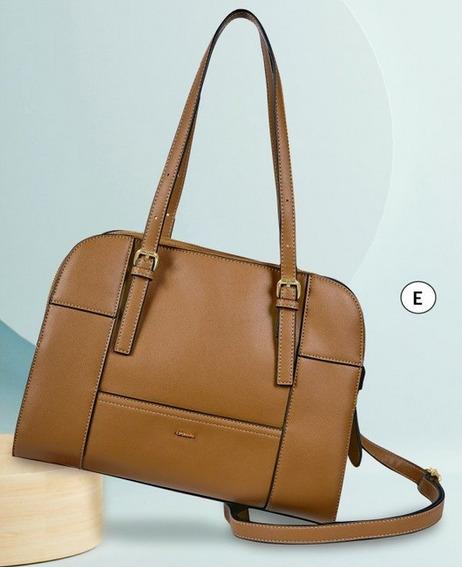Bolsa Dama Café 853-41 Cklass Hand Bags 1-20 J