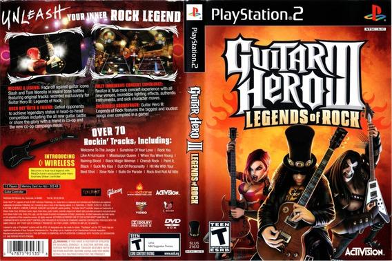 Guitar Hero 3 Para Playstation 2 - Patch