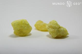 Piedra Azufre En Bruto Nro. 4