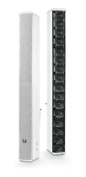 Caixa Acústica Staner Vertical Line Array Slr-508 Ds Branca