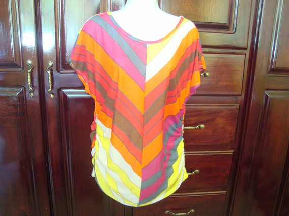 Limpia De Closet Blusa De Maternidad A Rallas Diagonales