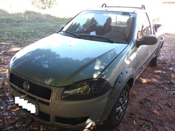 Fiat Strada 1.4 Ano 2013 Prata