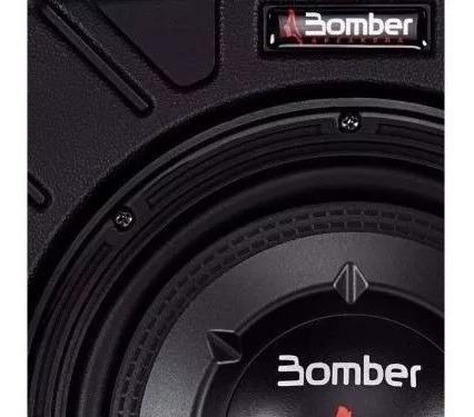Caixa Ativa Selada Bomber New Slim 10 - 175 Watts Rms