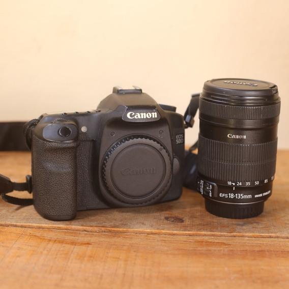 Câmera Canon 50d + Lente 18-135m