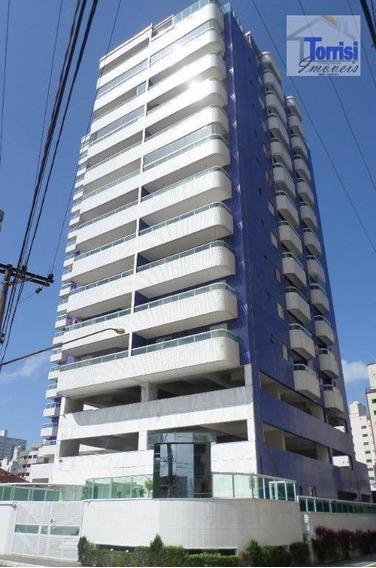 Apartamento Em Praia Grande, 02 Dormitórios , Campo Da Aviação, Ap2208 - Ap2208