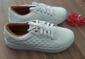 Tenis Metalasse Branco Brazil Shoes Promoção