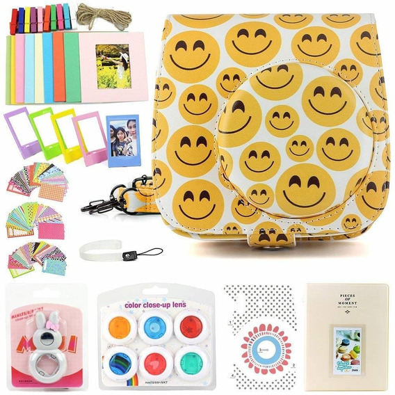 Wogozan Kit About Instax Mini 8/9 Accessories Includes Smili
