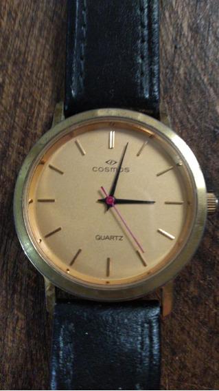 Relógio Antigo Cosmos Quartz - Anos 70/80