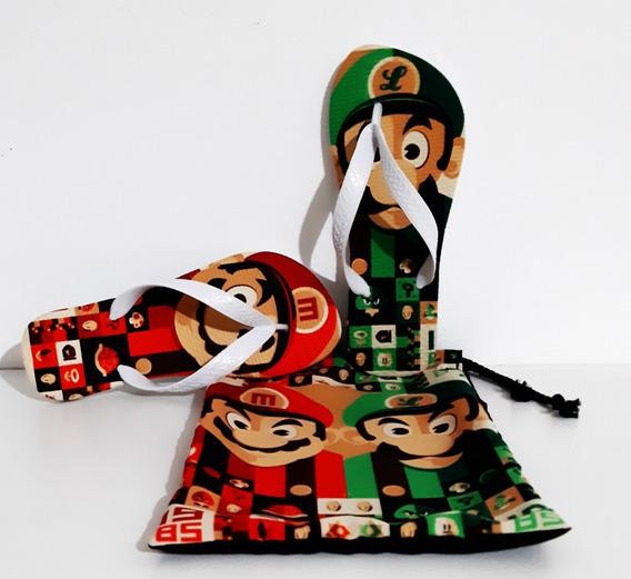 Chinelo Super Mario