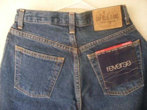 Jeans Gap Dama Original Reverse Fit Envio Gratis Talla 2 Mercado Libre