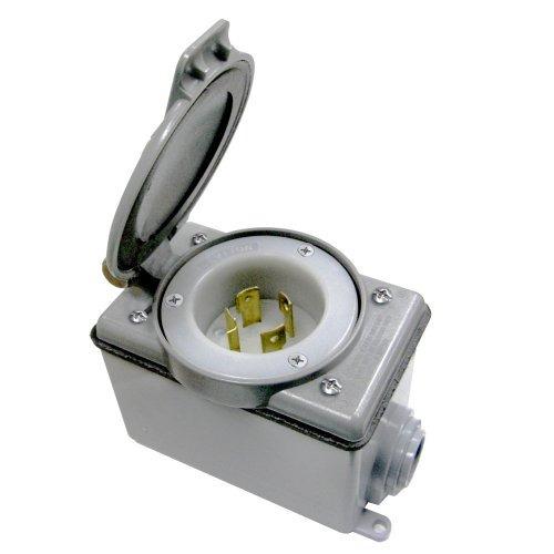 Leviton37820kit 20amp Generator Power Cord Inlet Kit