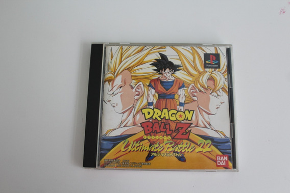 Dragon Ball Z: Ultimate Battle 22 - Ub22 - Original,jp - Ps1