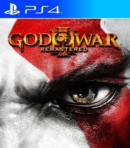 God Of War Iii Remastered - Ps4 Psn Mídia Digital Primária