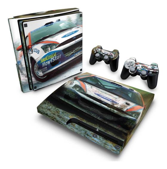 Skin Ps3 Slim Adesivo Playstation 3 Colin Mcrae Rally