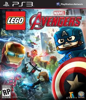 Lego Marvels Avengers Ps3 Original Entrega Inmediata