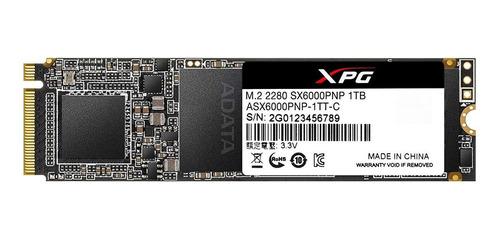 Disco sólido interno Adata XPG  ASX6000PNP-1TT-C 1TB