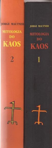 Livro Mitologia Do Kaos Em 2 Volumes Jorge Mautner.