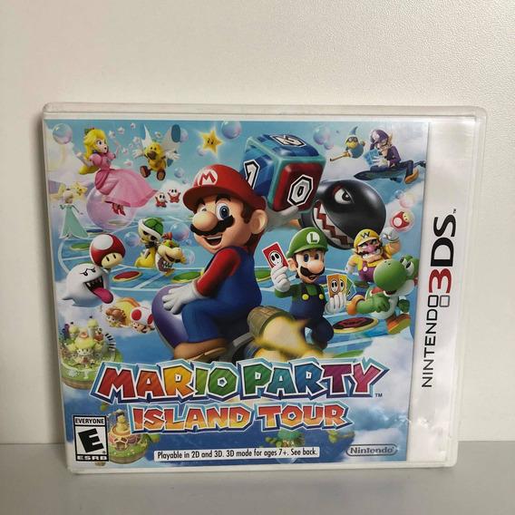 Jogo Mario Party Island Tour Nintendo 3ds 100% Original