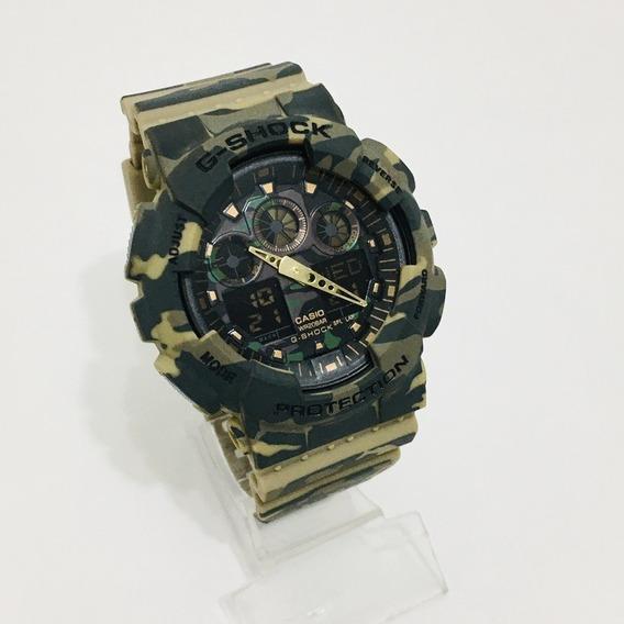 Relógio Masculino G-shock Ga 100